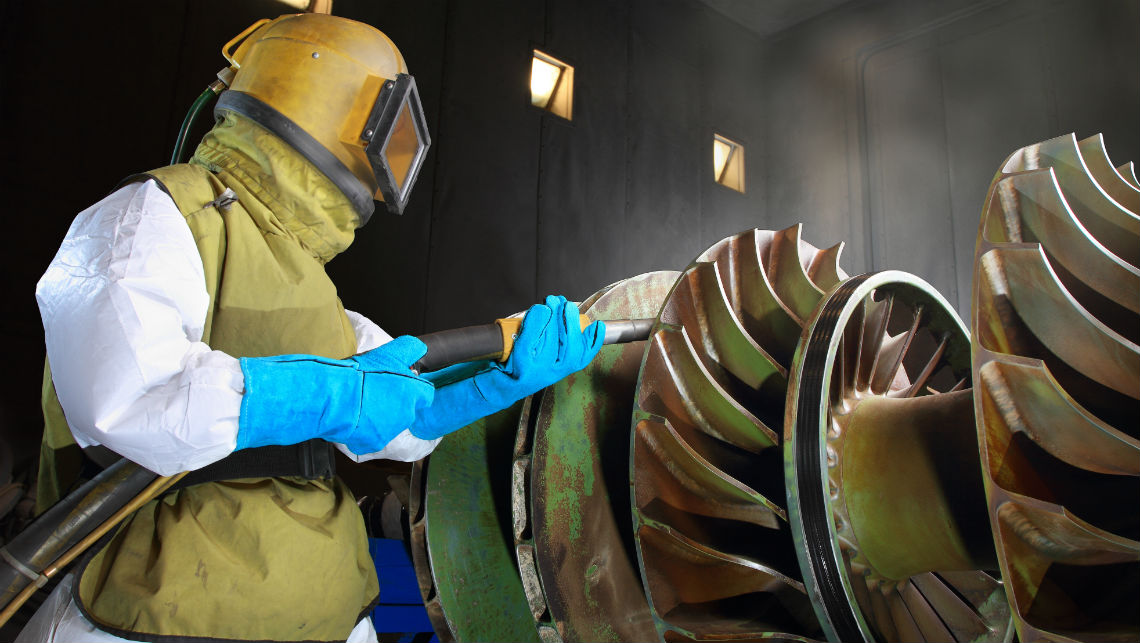 abrasive sandblasting services