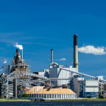 industrial painting pulp and paper refinery